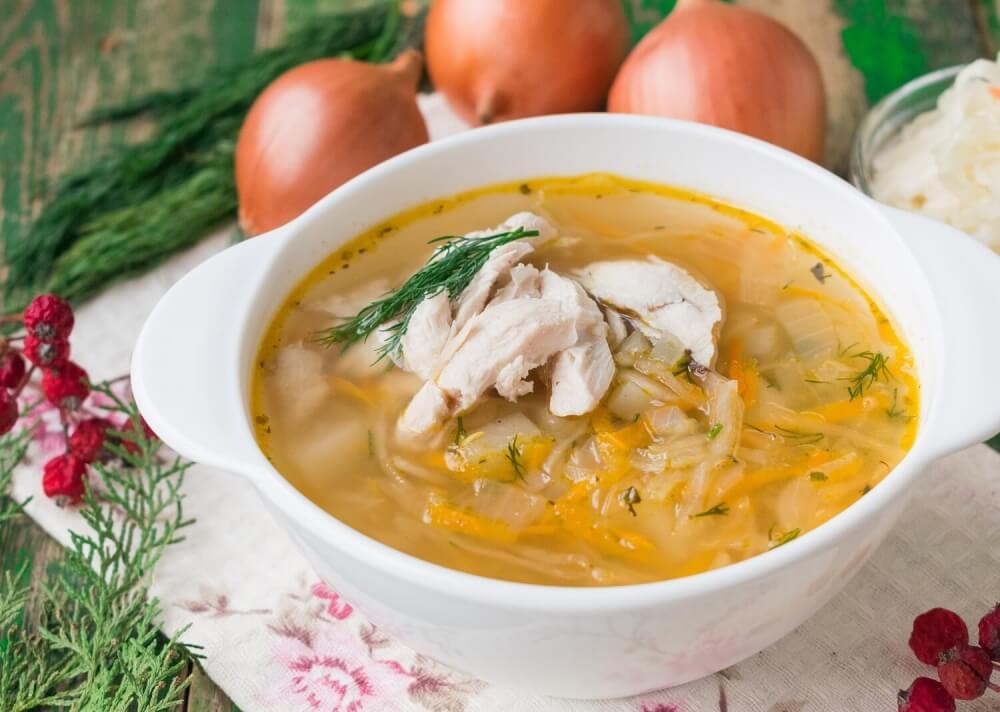 Кето щи из свежей и кислой капусты, мясные и «пустые» 🍲3 рецепта супа для диеты
